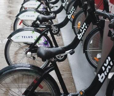 Bixi Telus bike