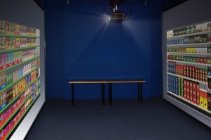 CSI will have a virtual aisle with images of product from actual stores projected onto screens.