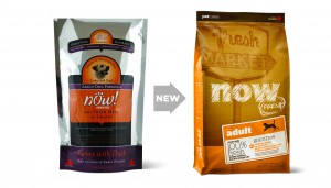 Transitional signage will help existing customers identify the products in its new packaging.