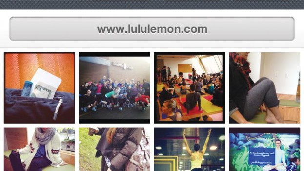 Lululemon instagram