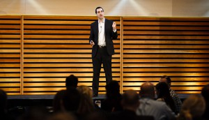 Facebook Canada's Steve Irvine speaks to marketers at BNPA conference