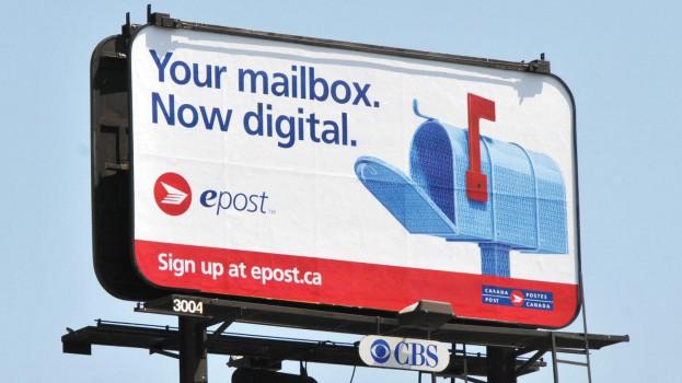 epost - billboard Toronto