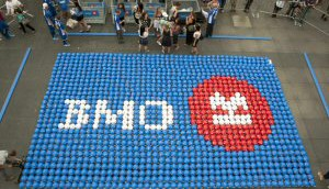 Copied from Media in Canada - BMO world record