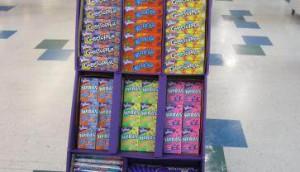 Wonka Count Good Floor Display May 2012