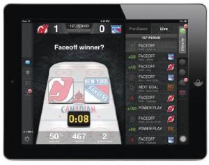 Molson Canadian NHL PrePlay - Game Screen