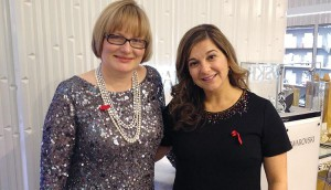 Last year's winner Mary de Paoli from Sun Life  (right) with strategy publisher Mary Maddever.