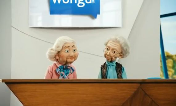 Copied from Media in Canada - Wonga