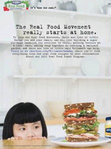 2009 Hellmanns1 real food movement