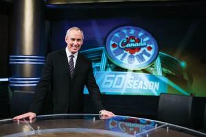 60th Season Hockey Night In Canada. January 17, 2013 (photo:Vito Amati/medianeeds.ca)