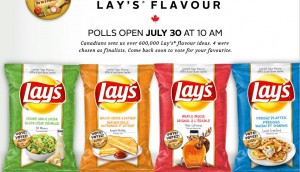 Copied from Media in Canada - LaysCanada