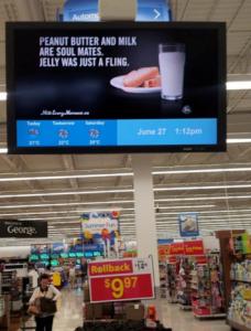 Walmart instore 1