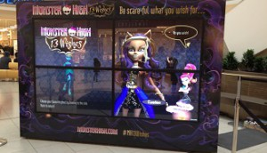 Copied from Media in Canada - Monster High Activation - Scarborough Town Centre 2