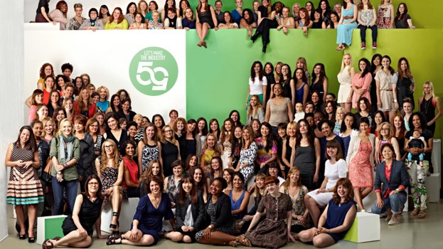 50/50 intiative.  Let's make the industry 50/50 with 131 women of advertising