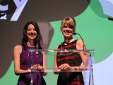 2013 Agency of the Year hosts Fiona Stevenson from Hotspex and Lyranda Martin-Evas from KBS+.