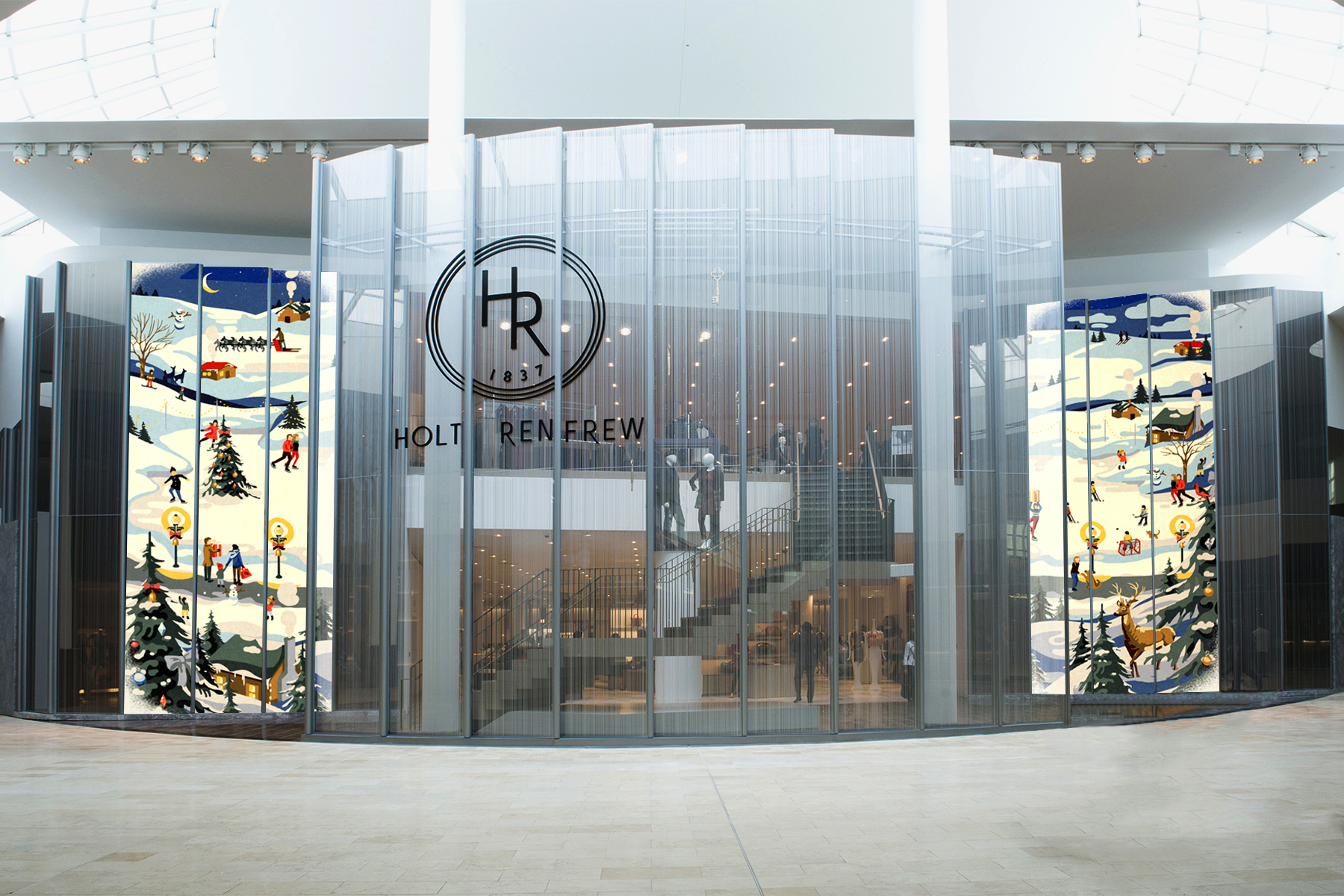 Holt Renfrew Bows Retro And Techy Holiday Plans 187 Strategy