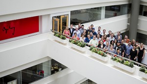 Ogilvy and Mather Agency Group Photo. Toronto,  Ontario, Canada. July 5, 2013. (photo: Vito Amati)