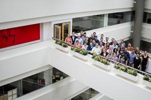 Ogilvy and Mather Agency Group Photo. Toronto,  Ontario, Canada. July 5, 2013. (photo: Vito Amati)