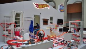 Hot Wheels Track Builder Challenge Exhibit