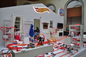 Hot Wheels Track Builder Challenge Exhibit