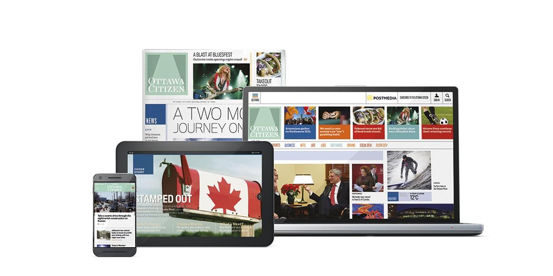 Copied from Media in Canada - OC Media Quartet