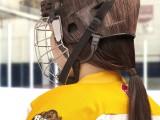 NYHL_Helmets_Brunette Helmet