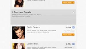 search results view profile