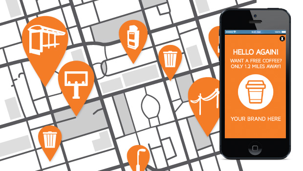 JUICE Mobile's proximity marketing network is being built to enable advertisers to communicate with consumers via push notifications. Messages are sent to mobile devices through beacons placed on traditional OOH structures like billboards and bus shelters, as well as newspaper stands, garbage cans and power lines. The data collected from these opt-in notifications will help advertisers drive consumers into stores and use the information to benefit future campaigns.
