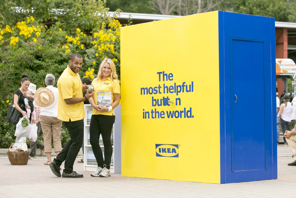 Ikea Lends A Helping Hand Strategy
