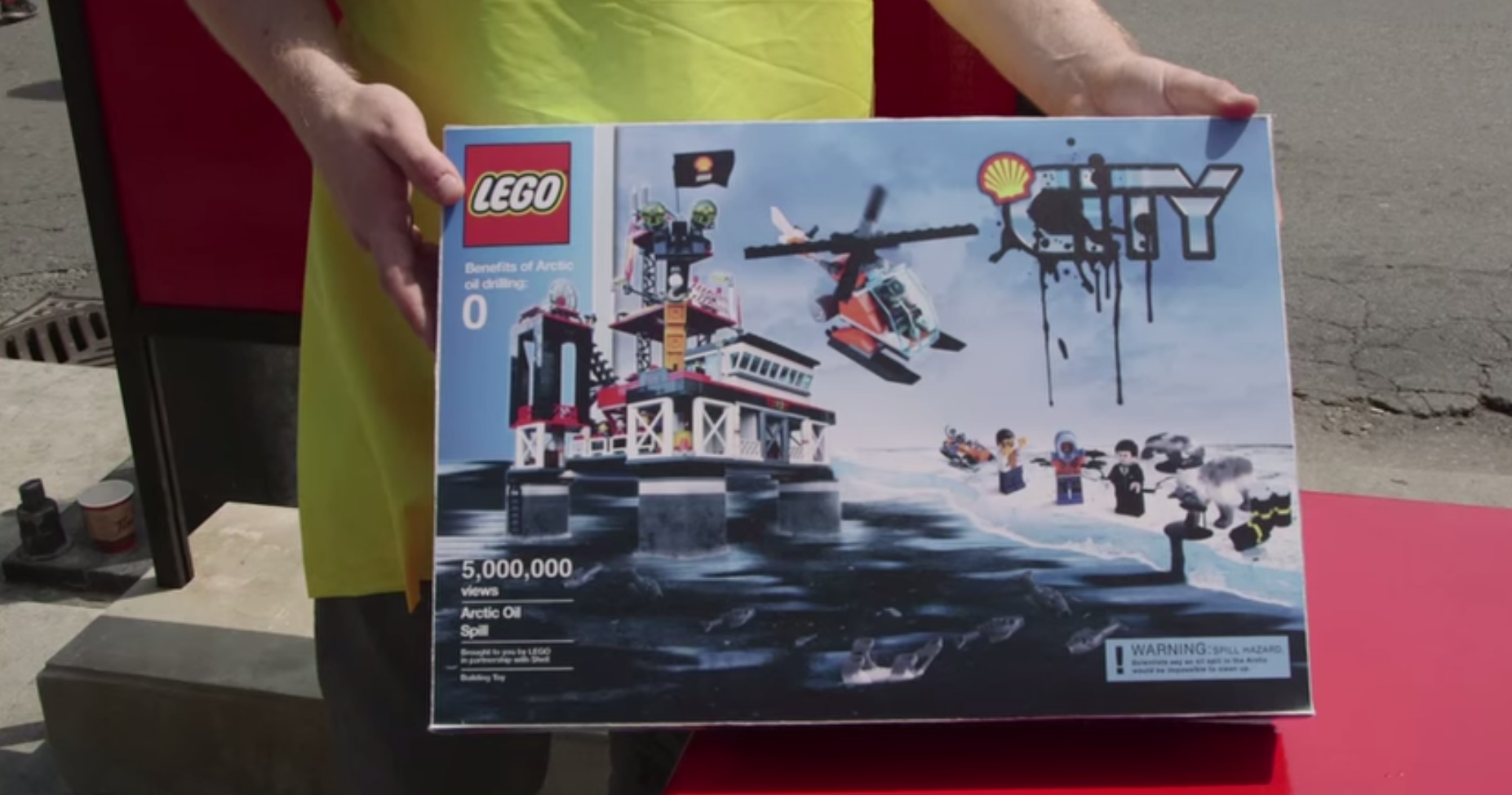 Greenpeace Greases Up Lego Toys 187 Strategy
