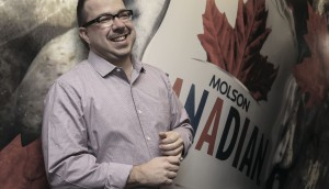 Molson Coors Canada Vice President of Marketing David Bigioni.