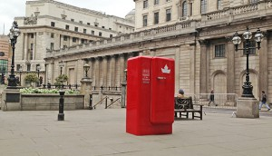 Fridge in London