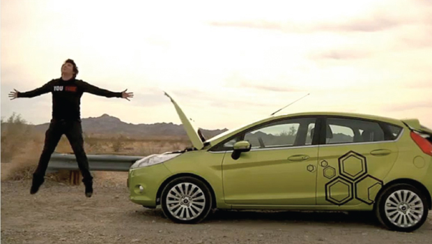 The Ford Fiesta Movement put 100 cars in the hands of young bloggers, videographers and online content creators.
