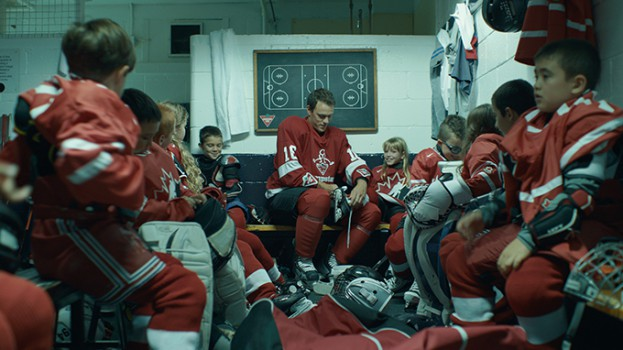 Canadian Tire dressing room