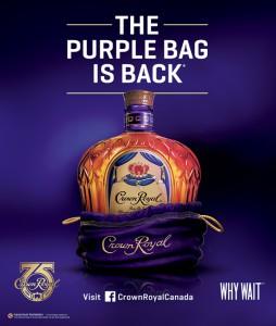 Crown Royal Purple Bag