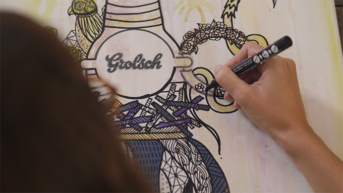 GROLSCH 400 Artist at Work