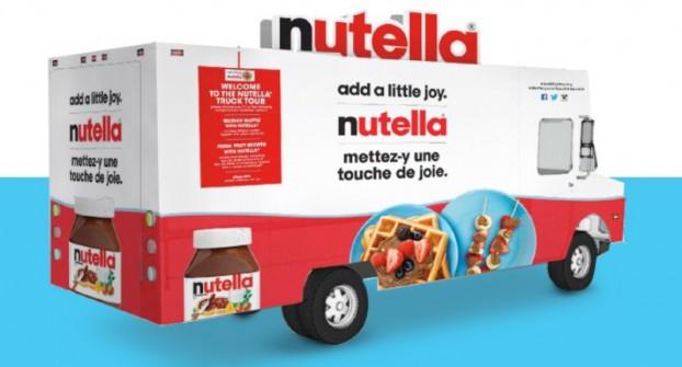Nutella-Truck