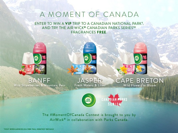 Air Wick Canada-New Air Wick® summer campaign reconnects Canadia