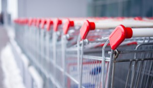 retail grocery carts