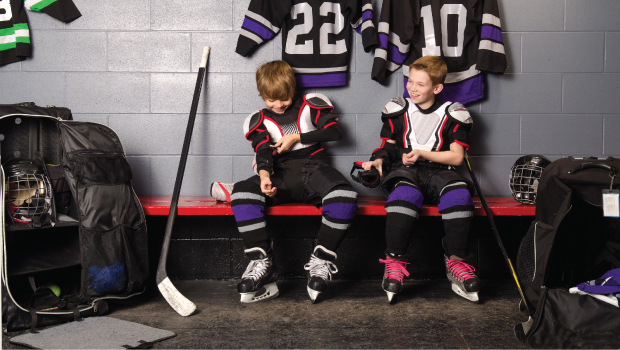 With the increasing cost of sports - especially hockey - parents are being asked to help fund more and more activities.