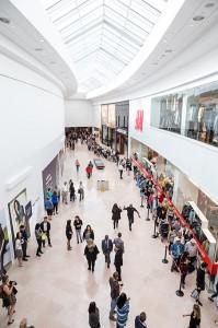 Sherway Gardens Grand Opening Ribbon Unveil.  September 22, 2015. Toronto, Canada. (photo: Vito Amati)