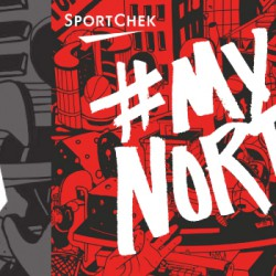 "Sport Chek's ""#MyNorth"" celebrated the robust basketball community across Toronto."