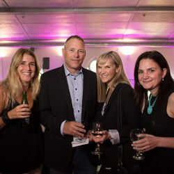 Nicol Kalman from aNIthing is Possible, Twist Marketing's David Kane, Melody MacPherson of LPi Group and PROMO! jury co-chair Nicole Bleiwas.