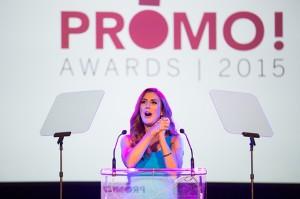 Host Jessi Cruickshank entertains the audience.