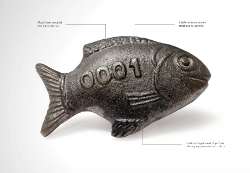 Canada s lucky iron fish takes grand clio strategy for Lucky iron fish snopes