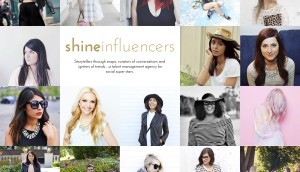 Shine Influencers Cover Page