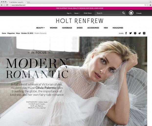 Holt Renfrew Online Screenshot_1