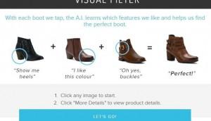 Sentient Aware - Shoes dot com e-Commerce