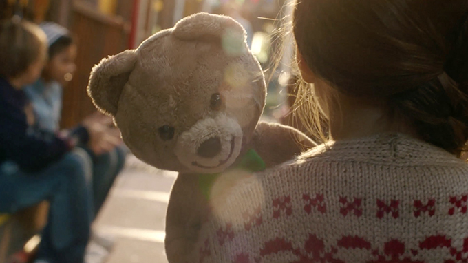 Kraft teddy bears were used in the brand's