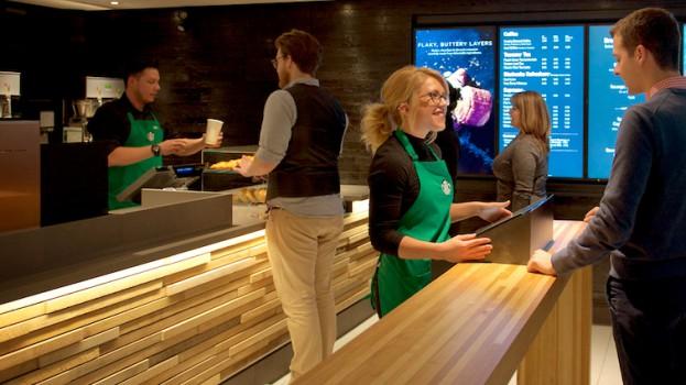 Starbucks store at Union Station