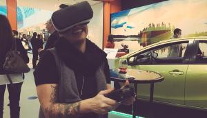 Casie Stewart Virtual Driving Simulator - Towards Tomorrow by Toyota